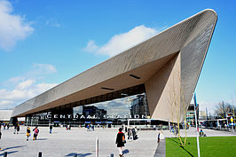 Travelling to Rotterdam is easy - Rotterdam Centraal Station