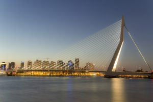 Erasmus bridge Rotterdam - architecture at its best